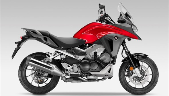 Honda upgrades its VFR800X Crossrunner