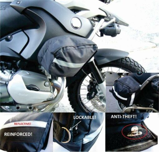 Crash Bar Bags BMW R1200GSA Air Cooled OEM - Image not Found