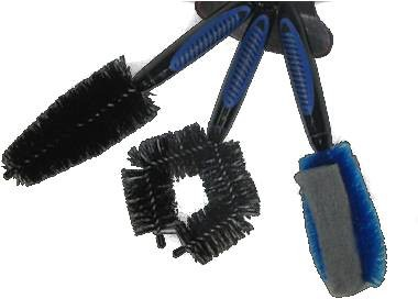 bikewise 3 piece brush set