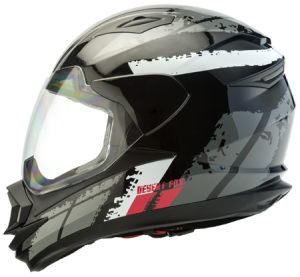 desert fox enduro 3 in 1 black decal helmet - Image not Found
