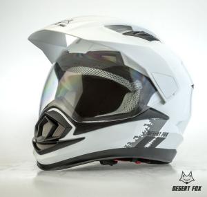 desert fox enduro 3 in 1 plain white helmet - Image not Found