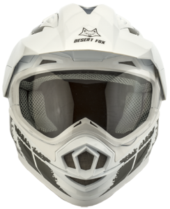 desert fox enduro 3 in 1 white decal helmet - Image not Found