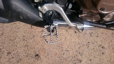 Wide Foot pegs Honda CRF1000 Africa Twin - Image not Found