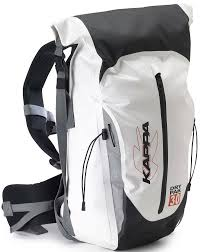 kappa dry pack 30 waterproof backpack white - Image not Found