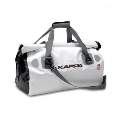 kappa dry pack 50 waterproof tail bag white- Image not Found