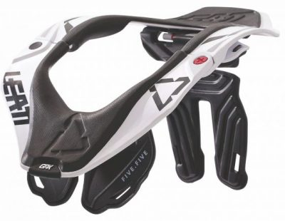 LEATT Neck Brace GPX5.5 White & Black