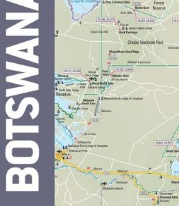 map studio paper adventure road map botswana - Image not Found