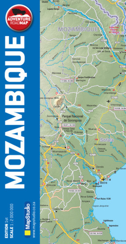 map studio adventure road map mozambique - Image not Found