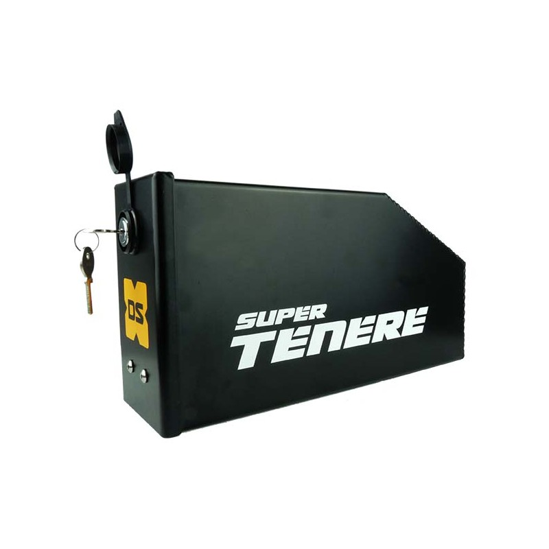 Raid Tool Box on Super Tenere Exhaust