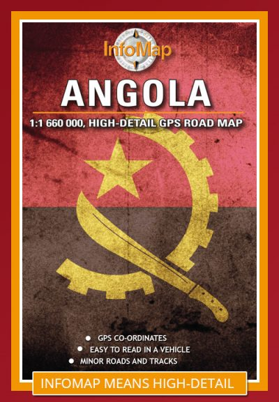 info map angola road map 3rd ed - Image not Found