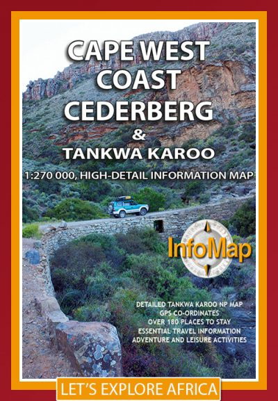 info map cape west coast and cederberg - Image not Found