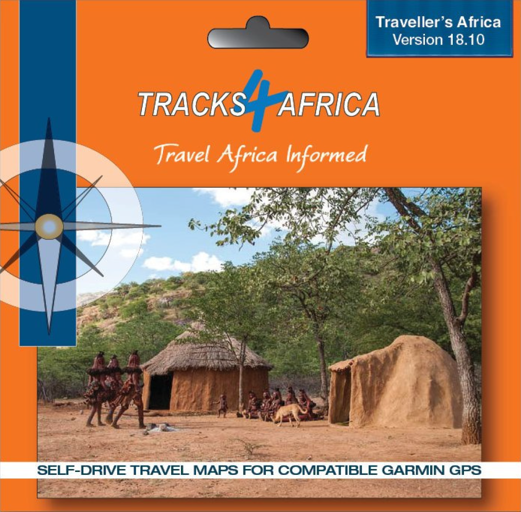 Tracks 4 Africa GPS SD Card Version 18 10