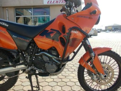 Waltec Engineering Crash Bars KTM LC4 640 Adventure - Image not Found